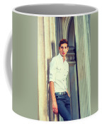 Portrait Of Young American Businessman. Coffee Mug
