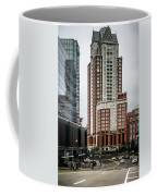 Providence Rhode Island City Skyline In October 2017 Coffee Mug