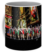 Radio City Rockettes New York City Coffee Mug