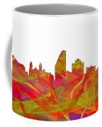 San Jose California Skyline Coffee Mug