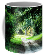 Scenes At Botany Bay Plantation Near Charleston South Carolina Coffee Mug