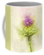 Silybum Eburneum Milk Thistle Coffee Mug