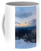 Spencer Butte Winter Summit, Eugene Oregon Feb 2018 Coffee Mug