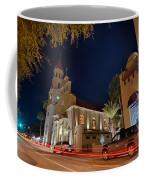 St Augustine City Street Scenes Atnight Coffee Mug