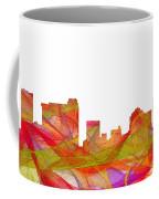 St Petersburg Florida Skyline Coffee Mug