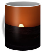 Sun Sinking Into Pacific Ocean Coffee Mug