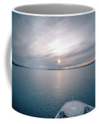Sunset Over Alaska Fjords On A Cruise Trip Near Ketchikan Coffee Mug