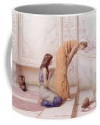 The Broken Pot Henry Ryland Coffee Mug