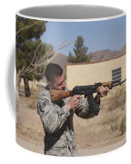 U.s. Soldier Conducts A Combat Training Coffee Mug