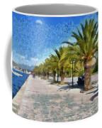 Walkway In Nafplio Town Coffee Mug
