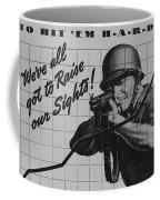 World War II Advertisement Coffee Mug