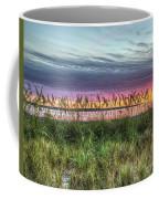 Yorktown Beach At Sunrise Coffee Mug