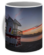 7935- Miami Beach Sunrise 14x25 Coffee Mug