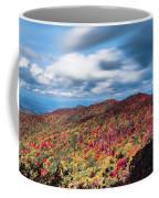 Beautiful Autumn Landscape In North Carolina Mountains Coffee Mug