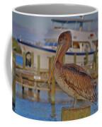 8- Brown Pelican Coffee Mug