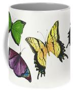 8 Butterflies Coffee Mug