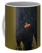Climber Rescue Operation In Yosemite Coffee Mug