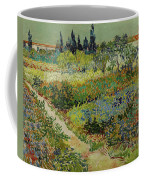 Garden At Arles Coffee Mug