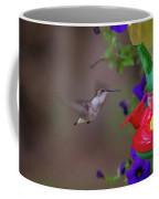 Hummingbird Found In Wild Nature On Sunny Day Coffee Mug