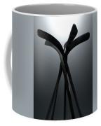 Ice Hockey Stick Array Coffee Mug