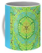 Indian Fabric Pattern Coffee Mug