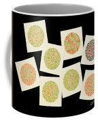 Ishihara Color Blindness Test Coffee Mug