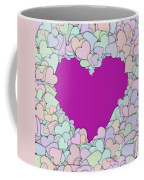 Love Heart Valentine Shape Coffee Mug
