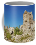 Natural Rock Formation At Mono Lake, Eastern Sierra, California, Coffee Mug