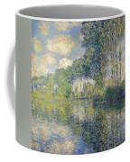Poplars, On The Epte Coffee Mug