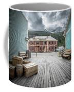 Port Of Skagway Alaska Near White Pass British Columbia Canada Coffee Mug