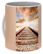 Railway Tracks  Coffee Mug
