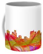 Springfield Illinois Skyline Coffee Mug