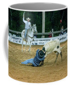 Steer Roping Coffee Mug
