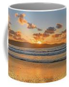 Sunrise Seascape At The Beach Coffee Mug