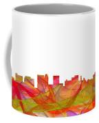 Topeka Kansas Skyline Coffee Mug
