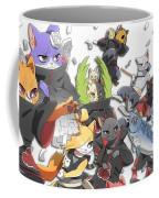85420 Naruto Shippuuden Manga Anime Akatsuki Konan Zetsu Uchiha Itachi Hoshigaki Kisame Kakuzu Cat Pein Deidara Tobi Coffee Mug