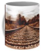 86ed On The Tracks Coffee Mug
