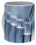 Test Tubes In Science Research Lab Coffee Mug