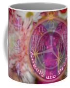 #8913_444 Angels Are Present  Coffee Mug