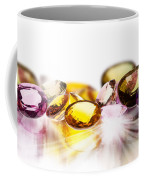Colorful Gems Coffee Mug by Setsiri Silapasuwanchai