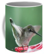 Female Ruby-throated Hummingbird Coffee Mug