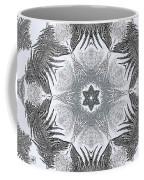 Fern Frost Mandala Coffee Mug