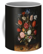 Flower Vase Coffee Mug