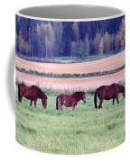 Horses Of The Fall Coffee Mug