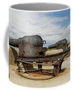 9 Inch Guns At Needles Old Battery Coffee Mug