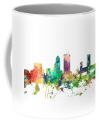 Jacksonville Florida Skyline Coffee Mug