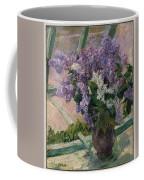 Lilacs In A Window Coffee Mug