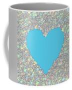 Love Heart Valentine Shape Coffee Mug
