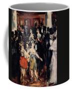 Masked Ball At The Opera Coffee Mug