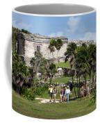 Mayan Temples At Tulum, Mexico Coffee Mug